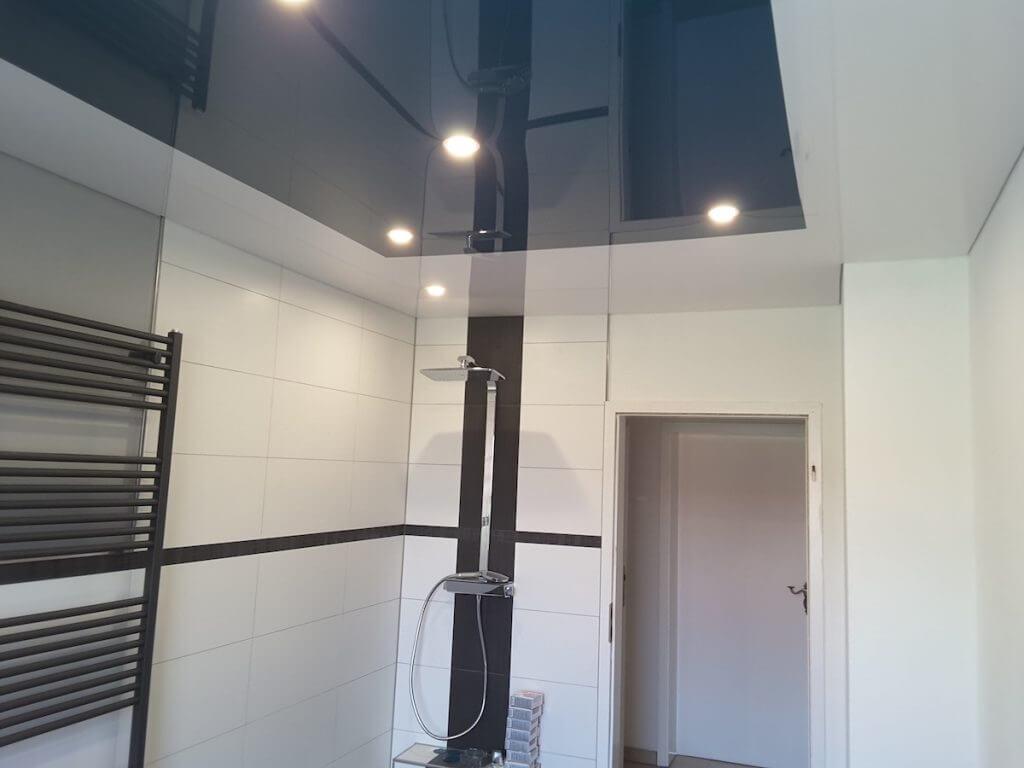 Spanndecke im Badezimmer   BAGU TEC Spanndecken & Lichttechnik